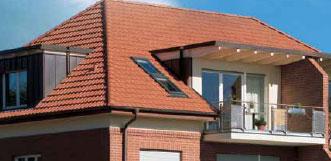 Dacapo Universaldachziegel čerpių stogas