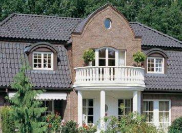 Vario Hohlfalzziegel čerpių stogas
