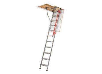 LML FAKRO metaliniai palėpės laiptai