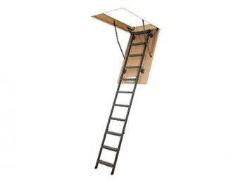 LMS FAKRO metaliniai palėpės laiptai