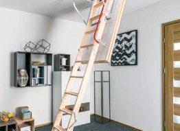Palėpės laiptai Fakro