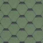 Hexagonal žalia