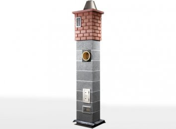 Icopal Wulkan CI-eko su ventiliacija kaminų sistema