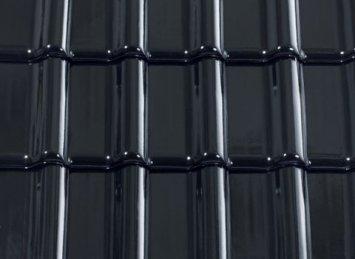 CREATON TITANIA juoda glazūruota
