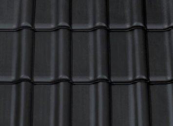 CREATON TITANIA juoda matinė angobuota